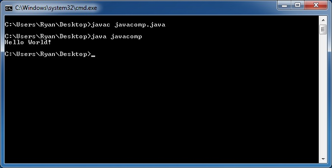 Compiling and Running the Java Program